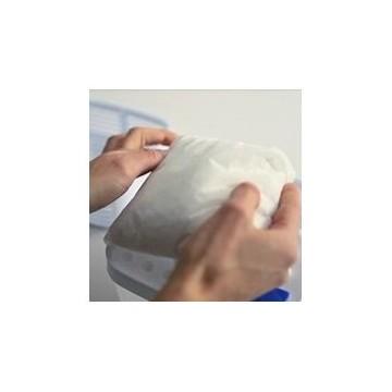 Recargas absorventes de humidade com grânulos ou comprimidos absorventes de humidade
